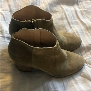 Club Monaco Suede Booties